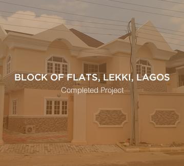 Block of Flats, Cooperative Villa, Lekki, Lagos