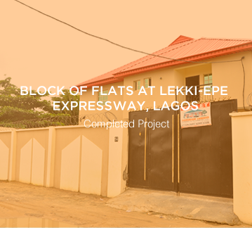 Block of Flats at Lekki-Epe Expressway