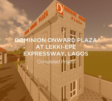 Dominion Onward Plaza – Lekki-Epe Expressway, Lagos